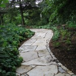 Fond Du Lac Landscape flagstone and steppers