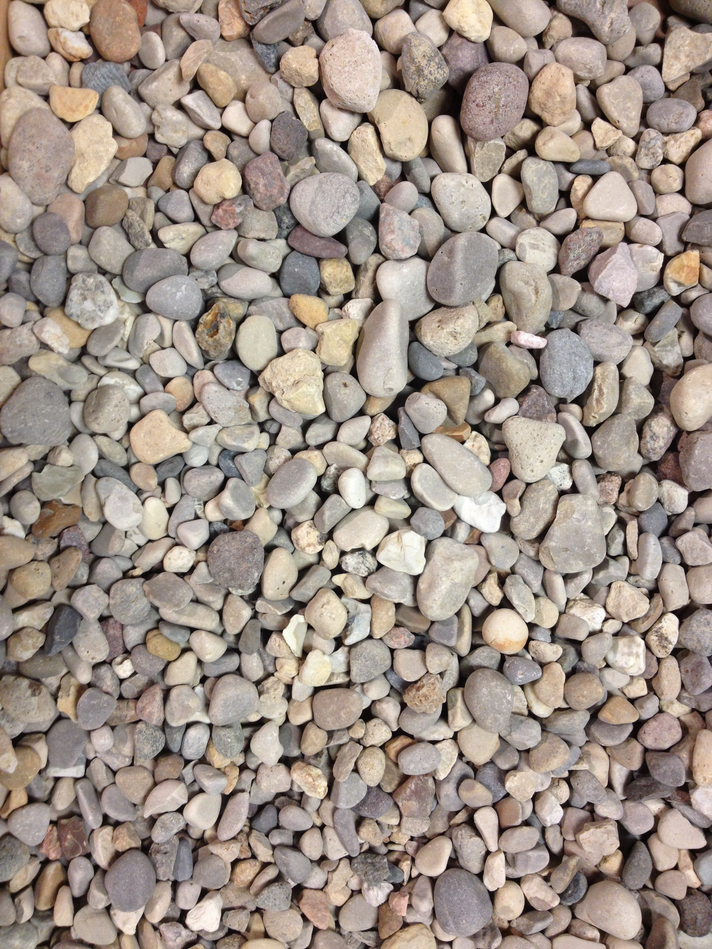 Pea gravel benson stone for Decorative landscape gravel