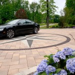 Umbriano with Copthorne Paver Driveway by Unilock at Benson Stone Co. in Rockford, IL