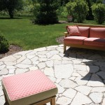 Fond Du Lac Silver landscape Flagstone and Steppers