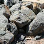 Aqua Blue Landscape Boulders
