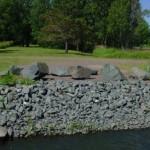 Gun Metal Granite Landscaping Boulders
