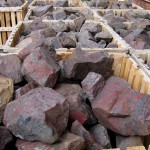 Multi-Colored Fractured Landscaping Boulders