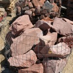 Red Mountain Landscape Boulders