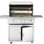 Summerset TRL32 gas grill with cart