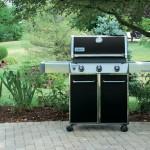 Weber Genesis E310 Black Gas Grill