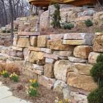 Chilton Weathered Edge Seamface Outcropping Landscape Stone