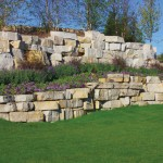 Lannon Weathered Edge Seamface Outcropping Landscape Stone