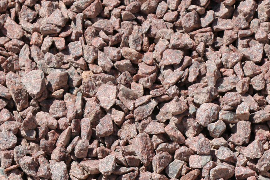 Red Granite Gravel : Decorative gravel benson stone