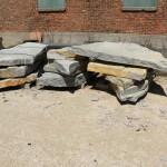 Chilton Split Edge Outcropping at Benson Stone in Rockford, IL