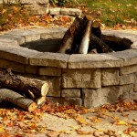 Outdoor Fire Pit by Rosetta Hardscapes at Benson Stone in Rockford, IL