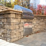 Outdoor Grill by Rosetta Hardscapes at Benson Stone in Rockford, IL