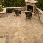 Outdoor Fireplace and Grill by Rosetta Hardscapes at Benson Stone in Rockford, IL