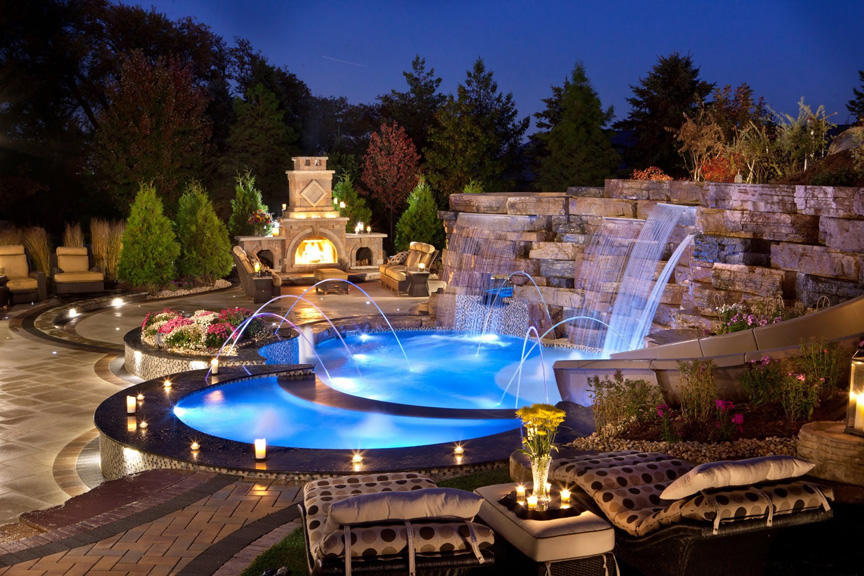 Outdoor Living | Benson Stone Co. | Rockford, IL on Rock And Stone Outdoor Living id=69256