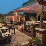 Outdoor Kitchen by Unilock at Benson Stone Co. in Rockford, IL