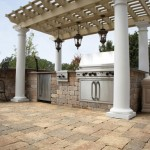 Outdoor Grill by Unilock at Benson Stone Co. in Rockford, IL