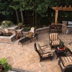 Outdoor Grill and Patio by Unilock at Benson Stone Co. in Rockford, IL
