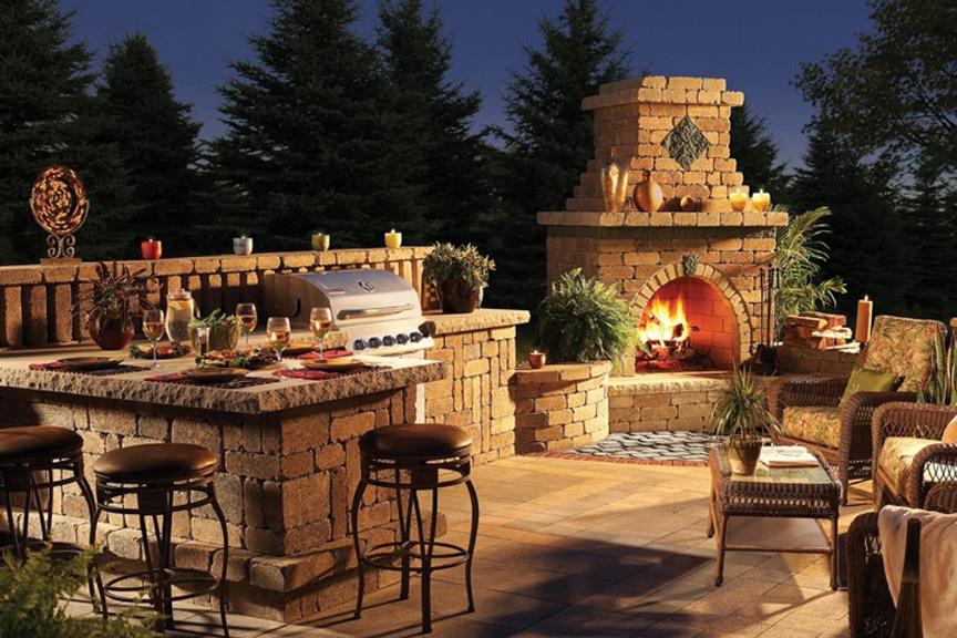 Outdoor Living Benson Stone Co Rockford Il