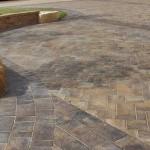 Navarro Paver Patio by Rochester Concrete Products at Benson Stone Co. in Rockford, IL