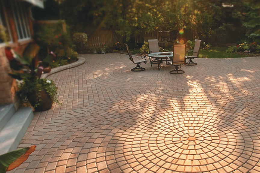 Victorian Paver Patio By Rochester Concrete Products At Benson Stone Co. In  Rockford, IL