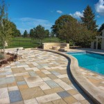 Slate Paver Patio by Silver Creek Stoneworks at Benson Stone Co. in Rockford, IL