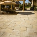 Travertine Paver Patio by Silver Creek Stoneworks at Benson Stone Co. in Rockford, IL