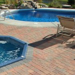 Olde Greenwich Cobble Paver Patio by Unilock at Benson Stone Co. in Rockford, IL
