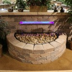 LED Waterfall Water Feature by EasyPro at Benson Stone Co. in Rockford, IL
