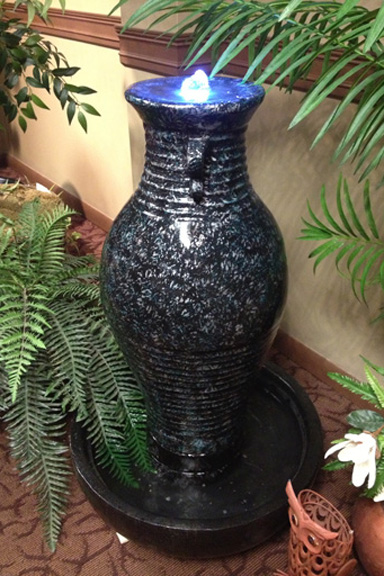 Vase Bubbler Water Feature By Easypro At Benson Stone Co In Rockford Il