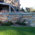 Chilton Weatheredge Natural Retaining Wall Stone at Benson Stone Co. in Rockford, IL