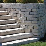 Fond Du Lac Natural Retaining Wall Stone at Benson Stone Co. in Rockford, IL