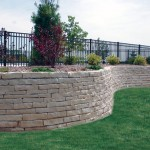 Lannon Splitface Natural Retaining Wall Stone at Benson Stone Co. in Rockford, IL