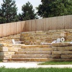 Lannon Weatheredge Natural Retaining Wall Stone at Benson Stone Co. in Rockford, IL