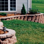 Cottage Stone Retaining Wall Block by Rochester Concrete Products at Benson Stone Co. in Rockford, IL