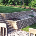 E-Z Wall Retaining Wall Block by Rochester Concrete Products at Benson Stone Co. in Rockford, IL