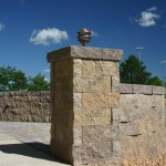 StoneHedge 6 Retaining Wall Block by Rochester Concrete Products at Benson Stone Co. in Rockford, IL