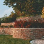 Vintage Retaining Wall Block by Rochester Concrete Products at Benson Stone Co. in Rockford, IL