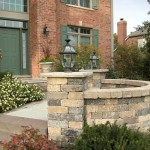 Brussels Dimensional Retaining Wall Block by Unilock at Benson Stone Co. in Rockford, IL