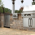 Olde Quarry Retaining Wall Block by Unilock at Benson Stone Co. in Rockford, IL