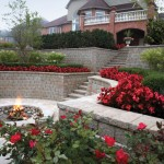 Pisa2 Retaining Wall Block by Unilock at Benson Stone Co. in Rockford, IL