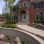 Roman Pisa Retaining Wall Block by Unilock at Benson Stone Co. in Rockford, IL