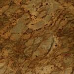 Golden Crystal Granite Countertops at Benson Stone Company in Rockford, IL