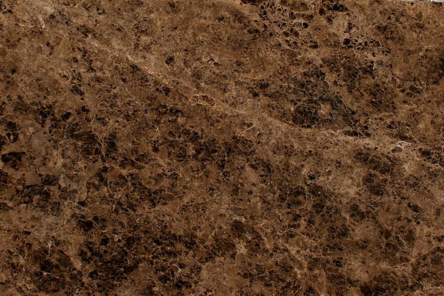 Emperador Dark Marble Countertops At Benson Stone Company In Rockford, IL
