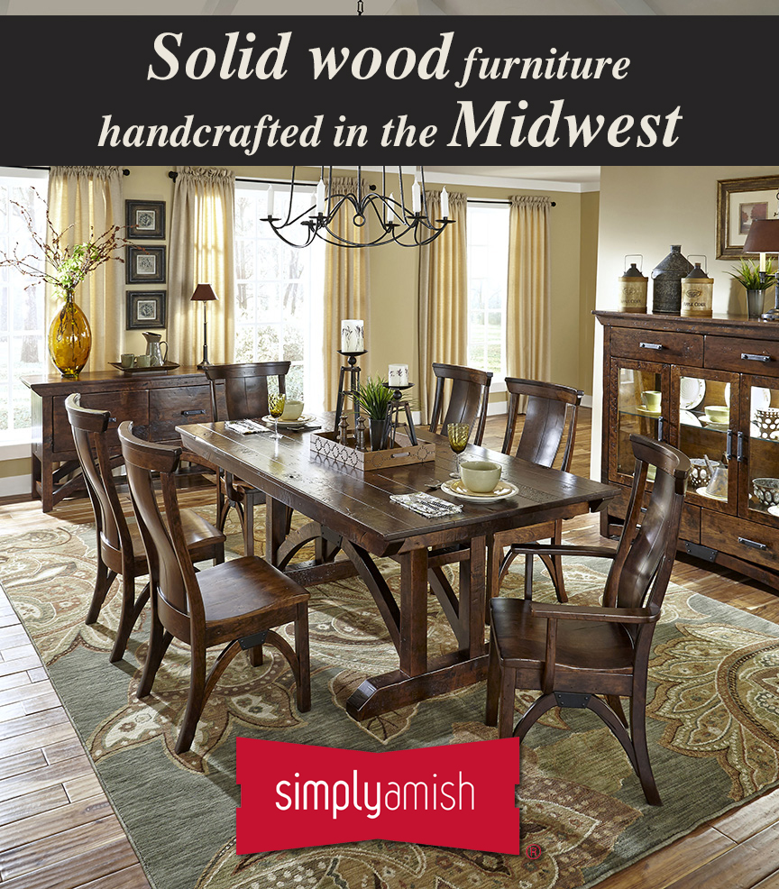 Simply Amish Furniture Is Back In Rockford Only At Benson Stone
