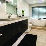 modern bathroom vanity cabinets and countertops