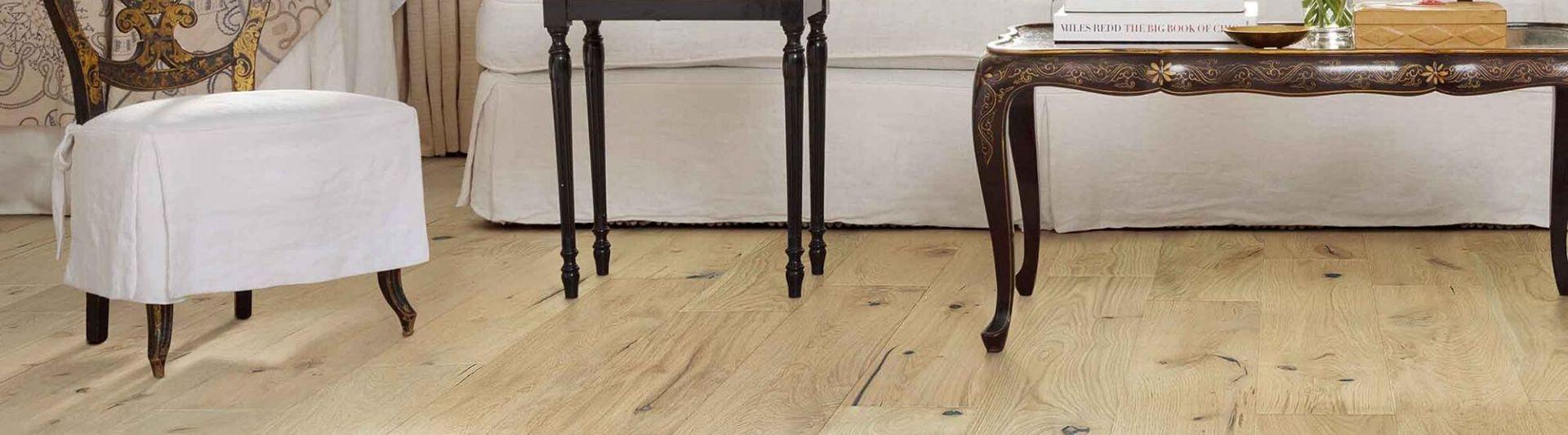 Hardwoods floor in living room