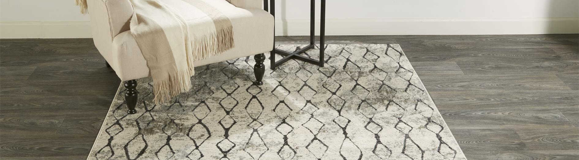 Area rugs for living rooms with chair and end table