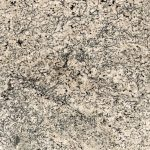 Blizzard White (Polished or Leathered) granite