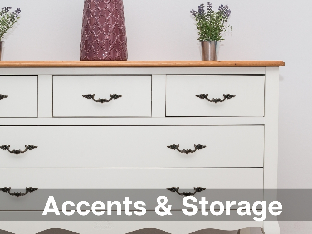 Accents and Storage