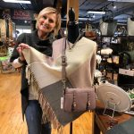wool wrap and purse rockford il